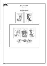 Albové listy POMfila SR - ročník 2007, A4, papír 160 g, rozš. verze - (13), vč. zesílených obalů