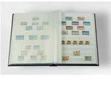 Zásobník na poštovní známky - 64 stran - bílé listy - BASIC W64