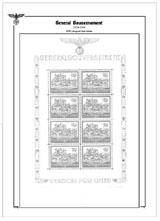 General Gouvernement - 1939-1944, komplet - (18)