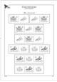 Albové listy A4 POMfila ČR - ročník 1993-2014, variace kupónů ze známkových sešitků - (32), bez obalů, papír 1