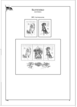 Albové listy POMfila SR - ročník 2008, A4, papír 160 g, rozš. verze - (15), vč. zesílených obalů