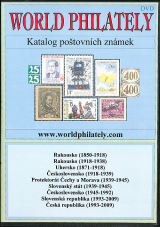 DVD katalog po�tovn�ch zn�mek World Philately 2010 - 9 zn. zem�