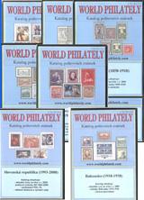 Poštovní známky ceny obsaženy v sadě 9 CD-ROMu - World Philately