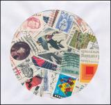 USA - balíček poštovních známek POMfila - 50 ks