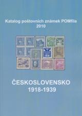 Katalog poštovních známek - Československo 1918-1939 - POMfila 2010