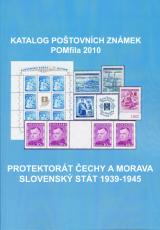 Katalog poštovních známek - Protektorát ČaM, Slovenský stát 1939-45  - POMfila 2010