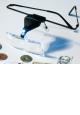 Brýle s lupou a diodou LED - LU 200 LED