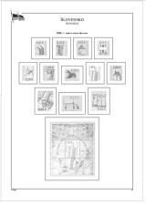 Albové listy POMfila SR - ročník 2009, A4, papír 160 g, rozš. verze - (16), vč. zesílených obalů