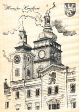 Dřevěné pohlednice - Hradec Králové - No. 2A