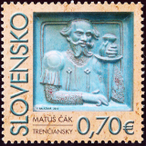Matúš Čák Trenčianský (1260-1321) - Slovensko č. 471