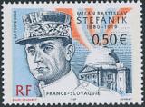 M. R. Štefánik - Francie - 0,50 Euro