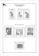 Albové listy A4 POMfila ČR - ročník 2010, zákl. verze - (9), bez obalů, papír 160gr.
