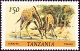 Tanzania - Michel č. 168 - žirafa
