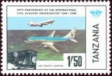 Tanzania - Michel č. 247 - letadlo