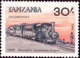 Tanzania - Michel č. 285 - 30 Sh - lokomotiva