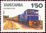 Tanzania - Michel č. 281 - 1,50 Sh - lokomotiva