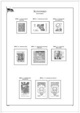 Albové listy POMfila SR - ročník 2010, A4, papír 160 g, zákl. verze - (5), vč. zesílených obalů