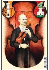 Společné slovinsko-české vydání: Johann Gerstner (1851 - 1939) - SLOVINSKO - 1,33 Euro