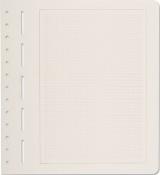Volné albové listy PRIMUS A - 304 004 - s šedým MM rastrem - kartonový papír