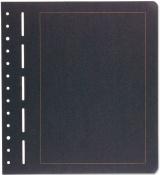 Volné albové listy BL S - 308 094 - černé listy - zlatě orámované
