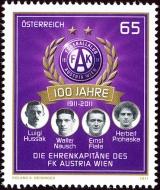 FC Austria Vídeň - Rakousko - 0,65 Euro