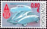 Technické pamiatky: Historické vozidlá – aerodynamická Tatra 87 - Slovensko č. 500