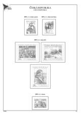 Albové listy A4 POMfila ČR - ročník 2011, rozšířená verze - (27 listů), vč. zesílených obalů, papír 160gr.