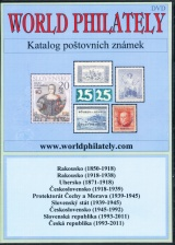 DVD katalog po�tovn�ch zn�mek World Philately 2012 - 9 zn. zem�