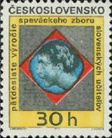 50 let pěveckého sboru slovenských učitelů - čistá - č. 1892