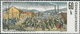 Dějiny KSČ ve výtvarném umění - Krompašská vzpoura - čistá - č. 1921