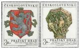 Pražský hrad 1972 - čistá - č. 1959-1960