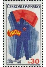 VIII. všeodborový sjezd v Praze - čistá - č. 1963