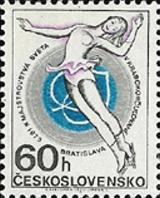 MS v krasobruslení 1973 v Bratislavě - čistá - č. 2009