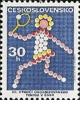 80. výročí organizovaného tenisu v Československu - čistá - č. 2010