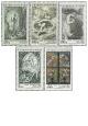 100. výročí narození Maxe Švabinského - UNESCO - čistá - č. 2048-2052