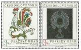 Pražský hrad 1974 - čistá - č. 2083-2084
