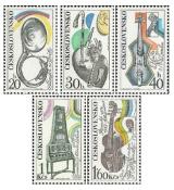 Hudební nástroje - čistá - č. 2085-2089