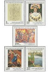 Umění 1975 - čistá - č. 2176-2180
