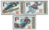 XII. zimní OH Innsbruck 1976 - čistá - č. 2187-2189
