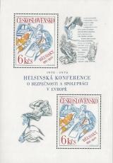 1. výročí Helsinské konference o bezpečnosti a spolupráci v Evropě - čistý - aršík - č. A2210