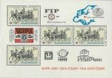 Mezinárodní výstava poštovních známek WIPA 1981 - čistý - aršík - č. A2489