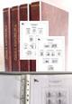 Albové listy A4 - nezasklené, ČR 1993-2017, rozšířená verze - 9x desky, 9x archivní box, vč. zesílených obalů,
