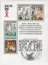 X. BIB 1985 - čistý - aršík - č. A2713