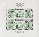 Olympijské hry 1988 - čistý - aršík - č. A2828