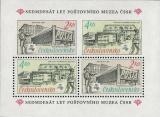 70 let Poštovního muzea - aršík - čistý - č. A2840