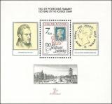 150 let poštovní známky - čistý - aršík - č. A2940