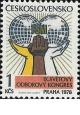 IX. světový odborový kongres v Praze - čistá - č. 2304