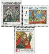 Umění 1978 - 30. výročí Slovenské národní galerie - čistá - č. 2347-2349