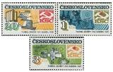 Úspěchy socialistické výstavby v ČSSR - čistá - č. 2557-2559