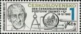 Den čs. poštovní známky 1982 - čistá - č. 2573